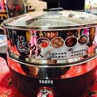 【好物推薦】全家團圓必備SAMPO聲寶5L多功能蒸鮮電火鍋(TQ-L17501CL)