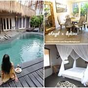 「峇里島」鄰近好逛水明漾街道的獨棟私人villa ❤ Merci Resort Luxury Villas Bali