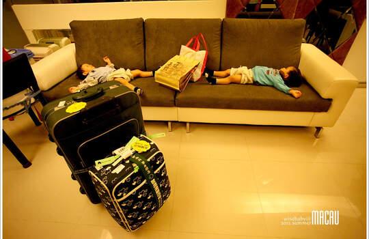 難忘的四天三夜澳門親子自助旅遊。回家,是下一趟旅行的開始!