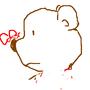 愛種花的熊